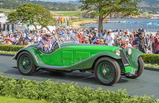 1932 Maserati V4 Zagato Spider