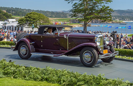 1930 Duesenberg J Murphy Disappearing Top Roadster