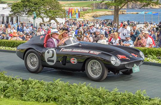 1954 Ferrari 735 S Monza Scaglietti Spyder