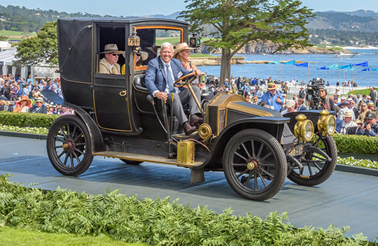 1907 Renault XB Labourdette Transformable Landaulet