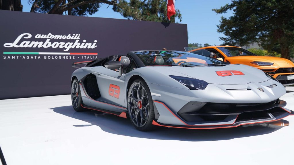 Lamborghini Pebble Beach 2019