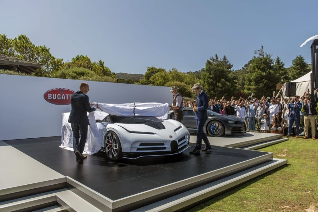 Bugatti Centodieci Pebble Beach 2019