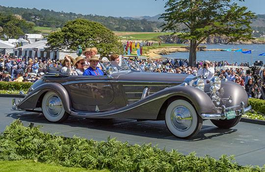 1936 Mercedes-Benz 540K Erdmann & Rossi Special Cabriolet