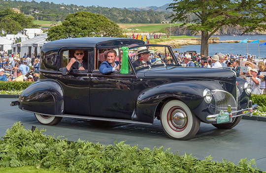 1941 Lincoln Continental Brunn Town Car