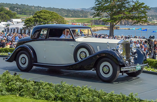 1937 Rolls-Royce Phantom III Inskip Special Henley Coupé