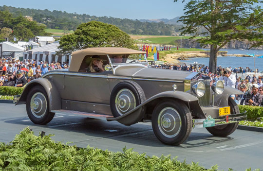 1929 Rolls-Royce Phantom I Brewster York Roadster