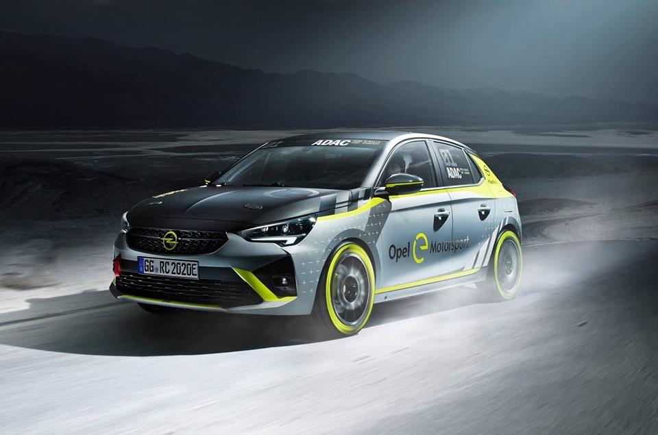 Opel E-Corsa Rallye