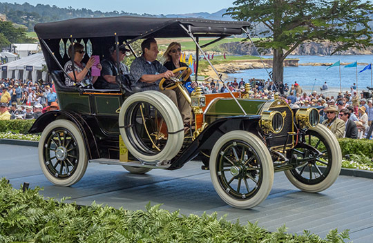 1910 Marmon 32 Five Passenger Touring
