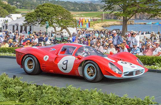 1967 Ferrari 412 P Coupe