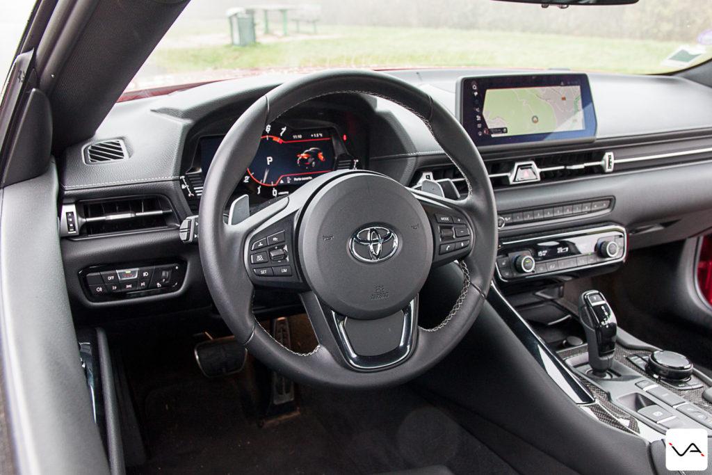 Essai Toyota GR Supra