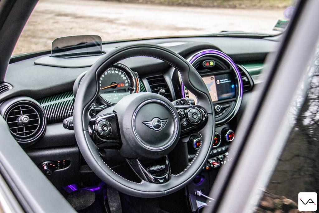 Mini Cooper S intérieur