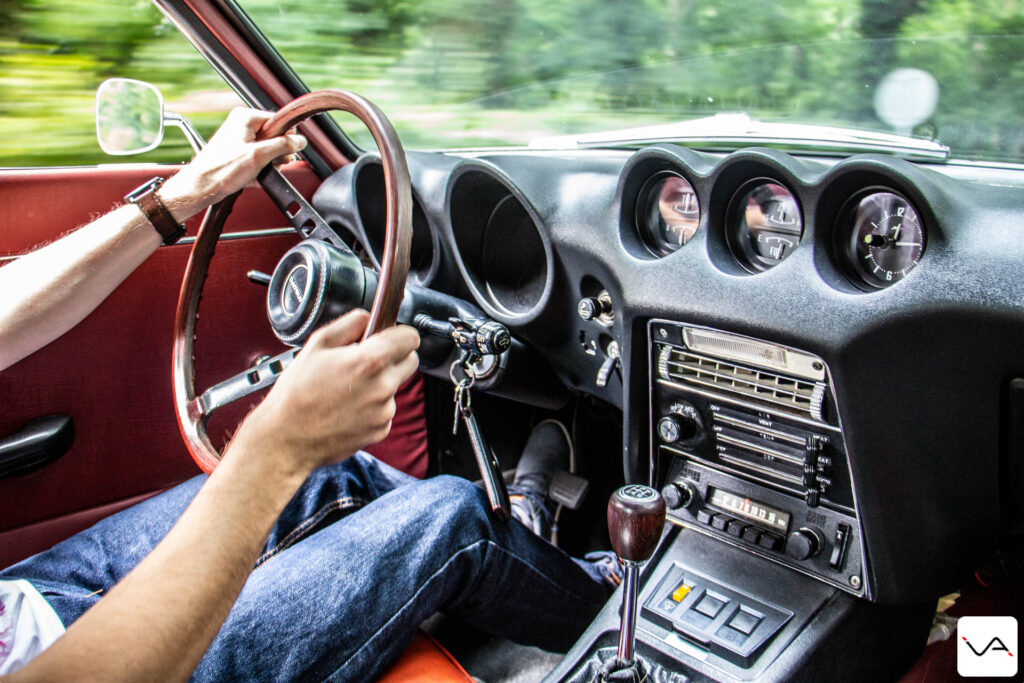 conduite datsun 240Z
