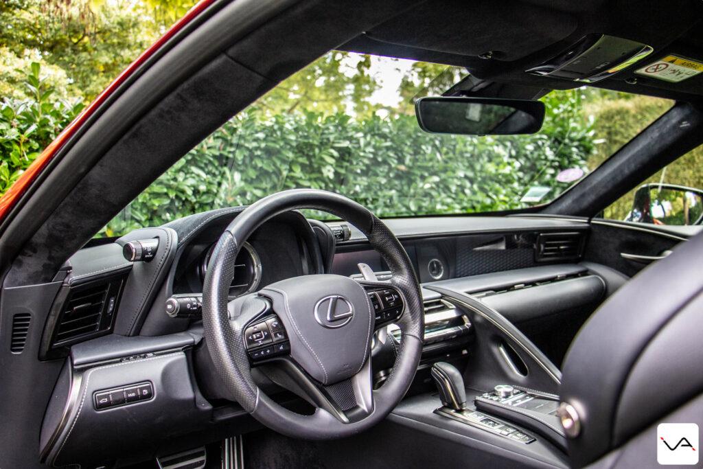intérieur lexus lc 500h