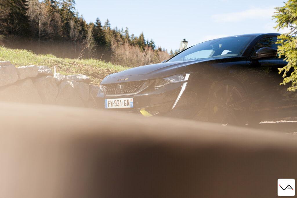 Essai Peugeot 508 PSE