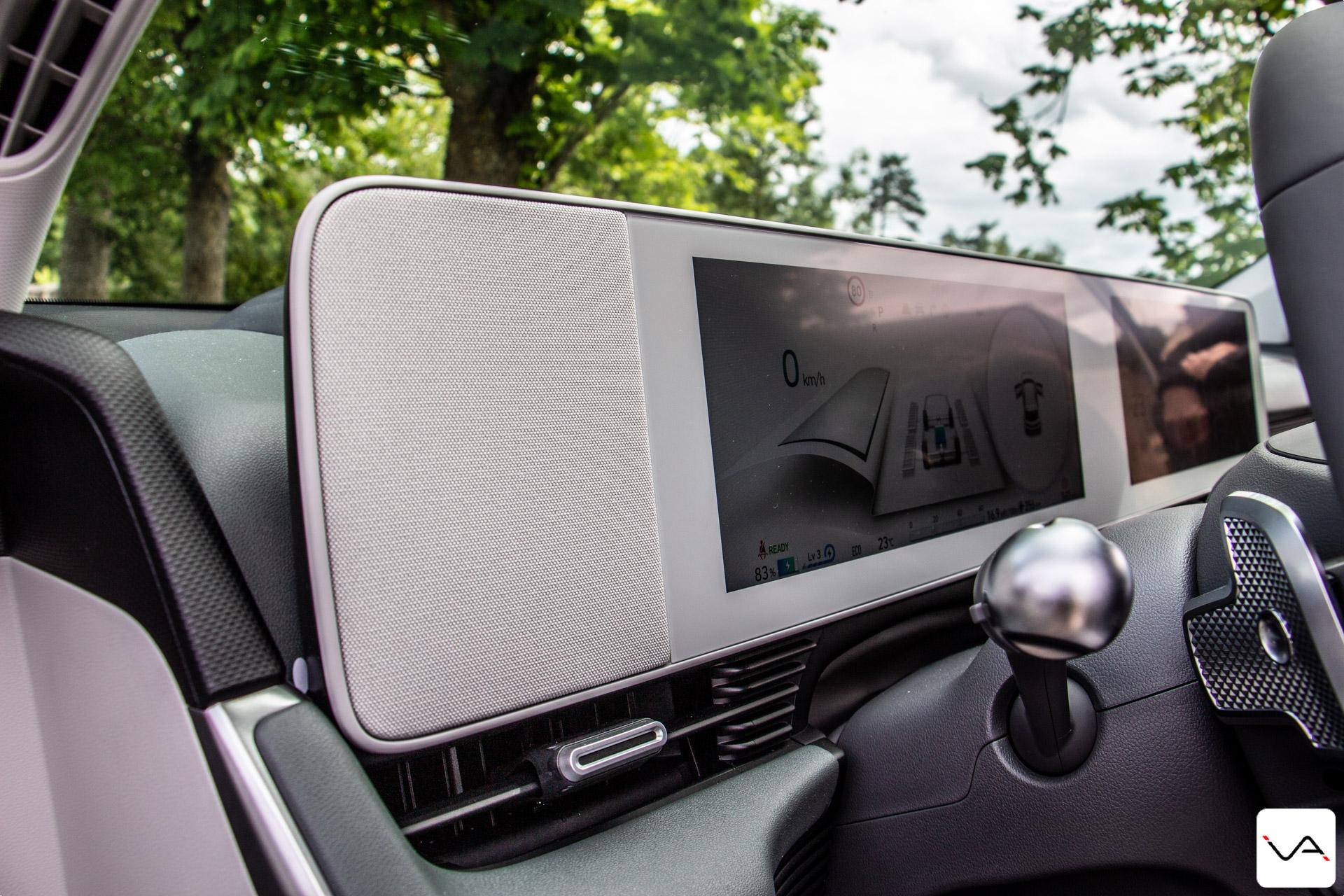 Hyundai Ioniq 5 planche de bord
